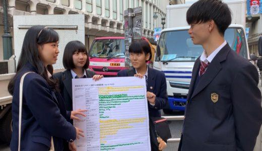 渋谷で高校生に調査!「ニキビに悩んだら、どうしてますか?」